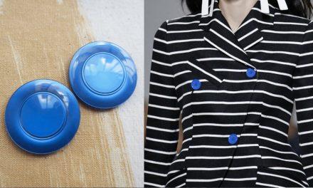 Boutons aux couleurs vives et boutons pop : réveillez votre look