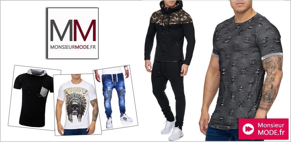 La mode homme pensée par le site MonsieurMode.fr