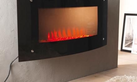 Cheminée électrique : chauffage d'appoint et climatisation mobile