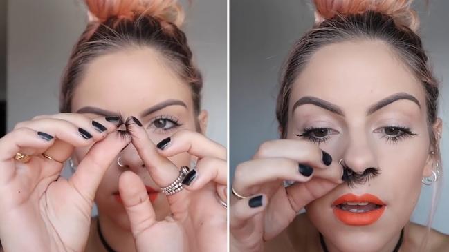 Extensions de poil de nez  la nouvelle tendance!
